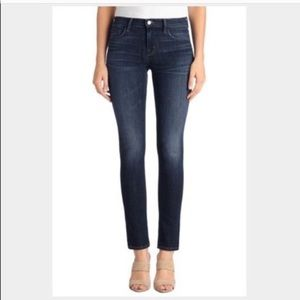 J Brand Eclipse Skinny Ankle Dark Wash Jeans